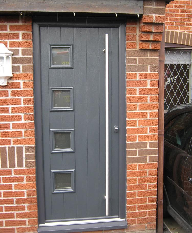 ... Awesome Grey Composite Front Doors Uk Pictures Exterior Ideas 3d ... & Composite Exterior Door Image collections - doors design modern