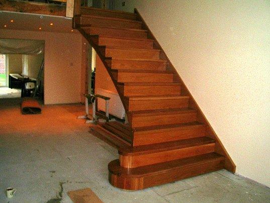 straight stairs