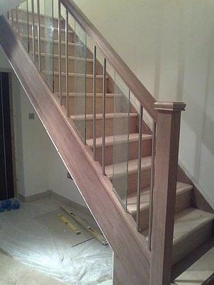 beige stairs